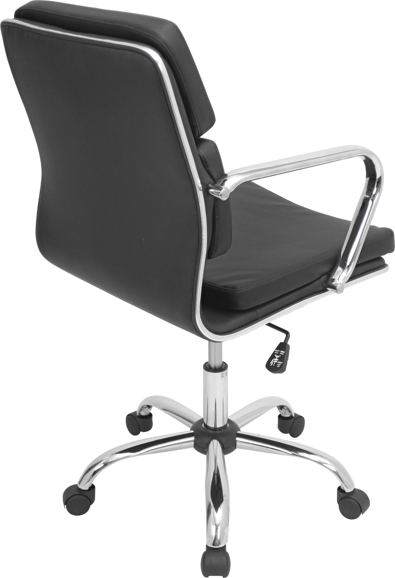 Bachelor Height Adjustable Office Chair with Swivel ...