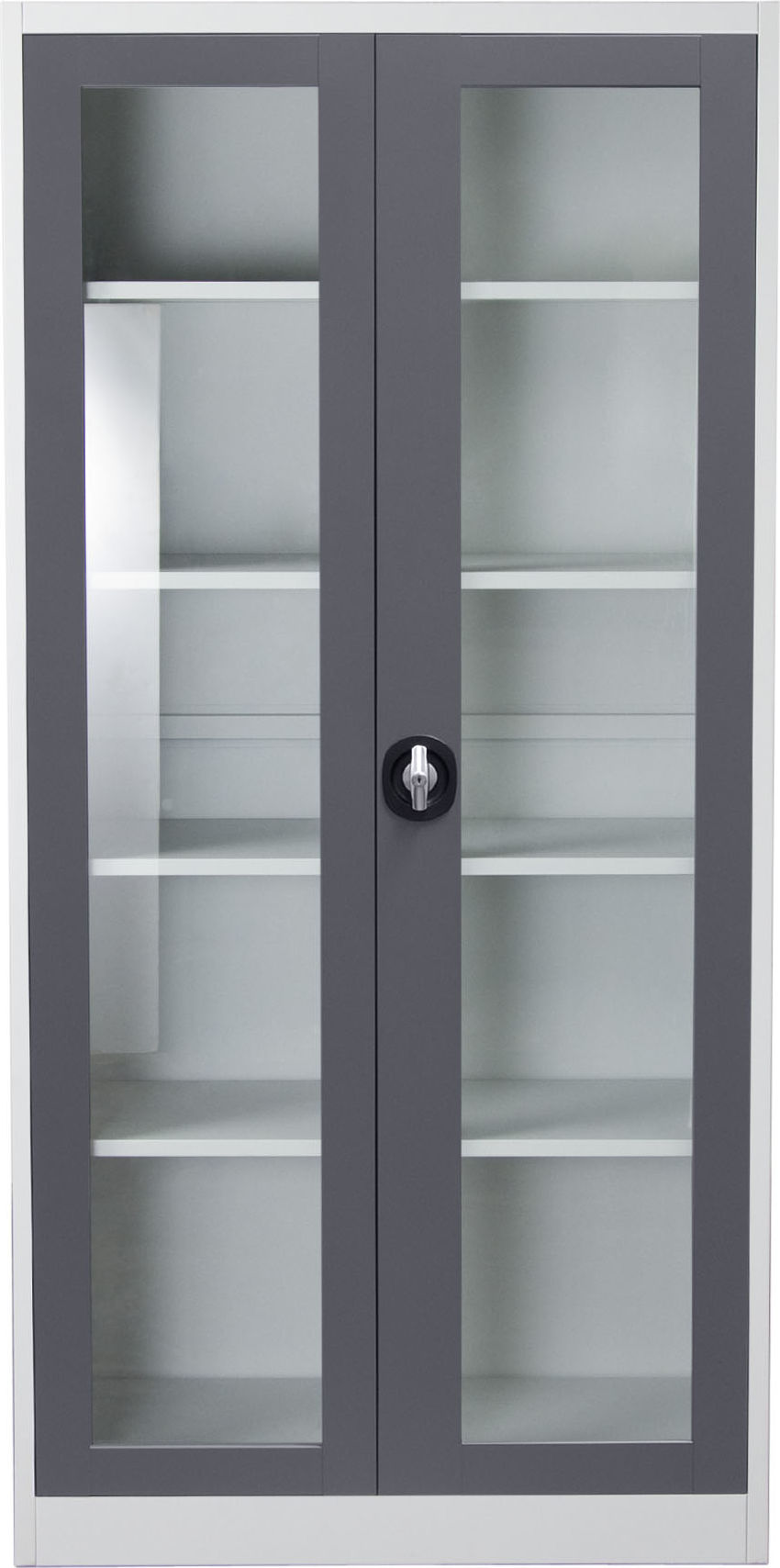 Bookcase With Glass Door Key Lock Entry