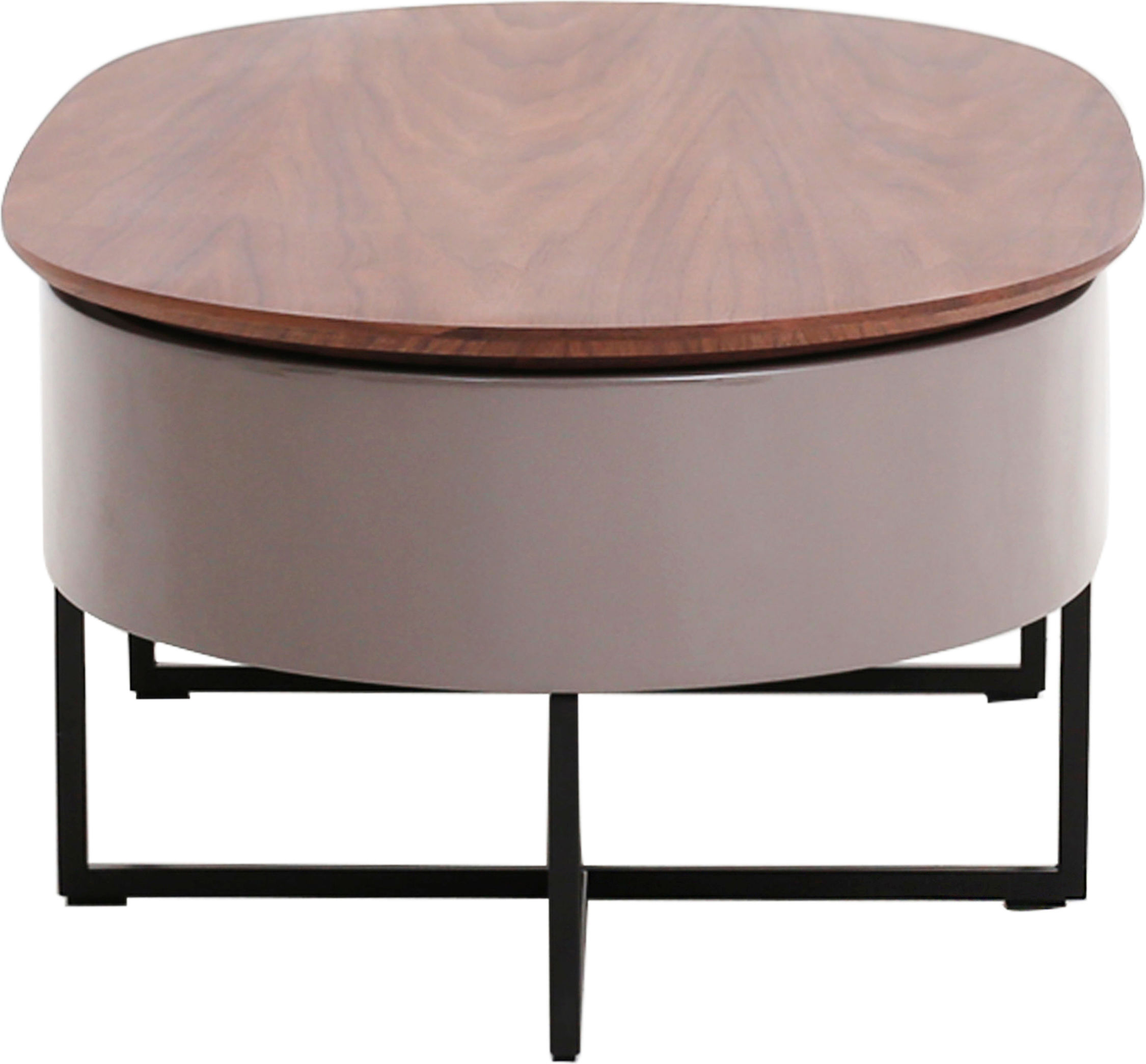 Hansel Lift Top Oval Coffee Table