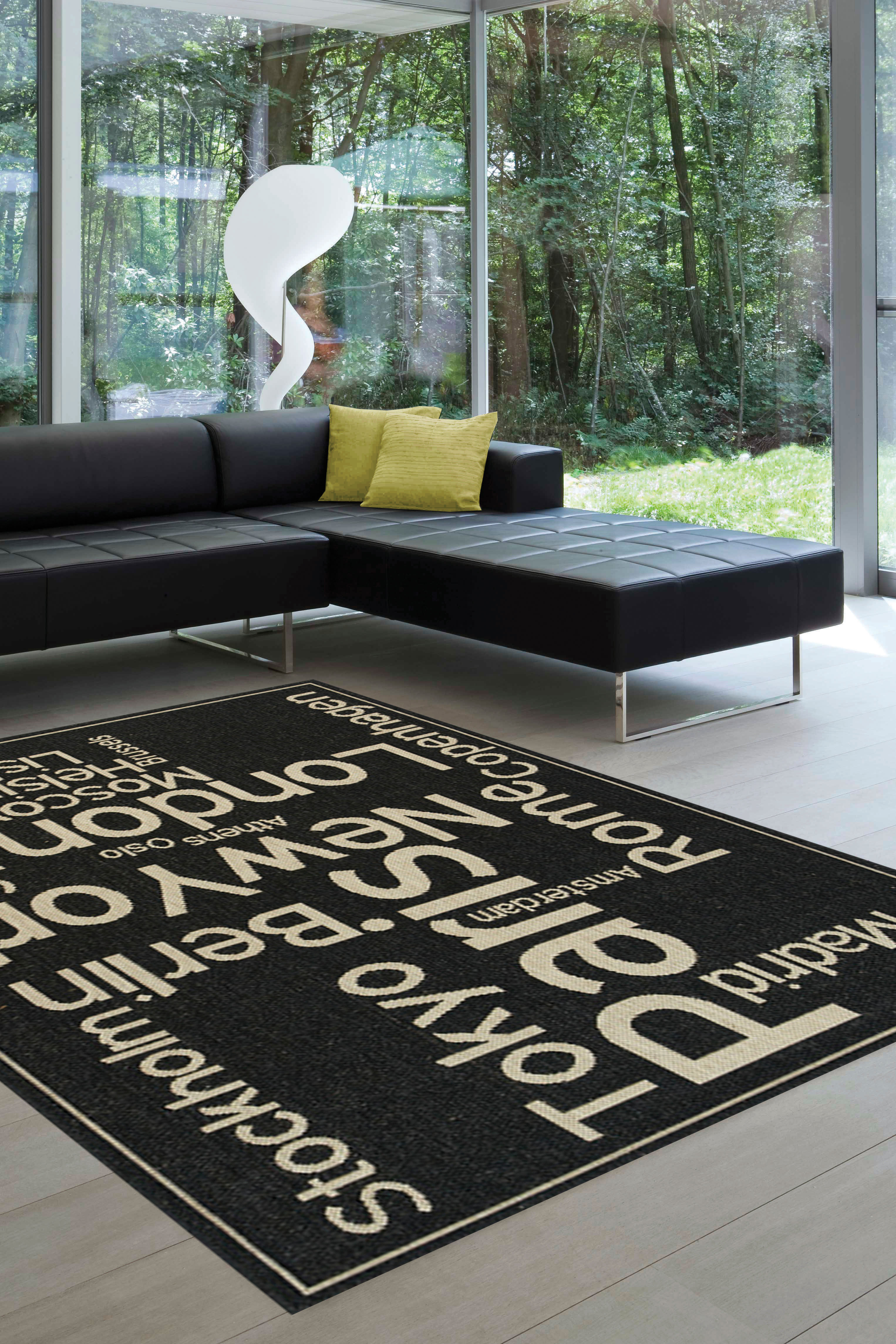 Cities Of The World Rug By Kalora